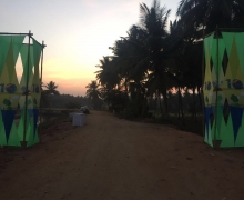 Kaveri Traill Marathon [Race start pillars]