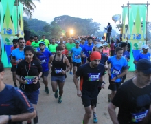 Kaveri Traill Marathon [Race start point pillars]